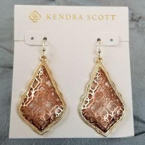 Kendra Scott, Rose Gold Mixed, Addie, Earr…
